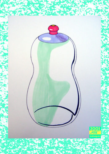 bottle by Silke Wolff