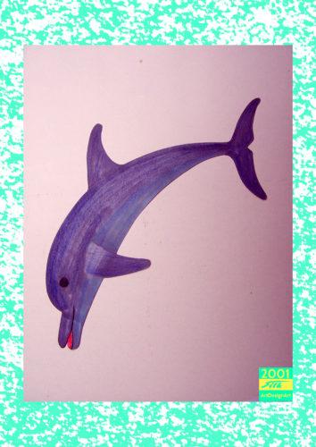 dolphin by Silke Wolff