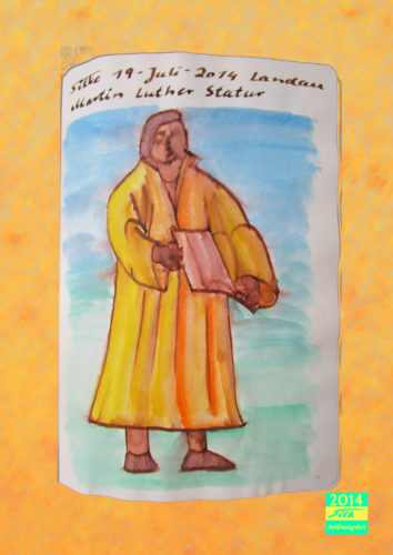 Martin Luther by Silke Wolff
