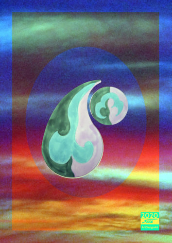 yin yang by Silke Wolff