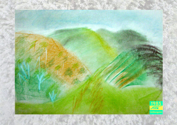 hills by Silke Wolff