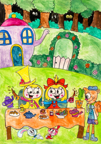 Tea party by Sadie