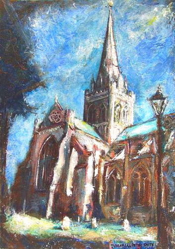 'Let There Be Light!…Chichester Cathedral' by Jonathan Peter Smith