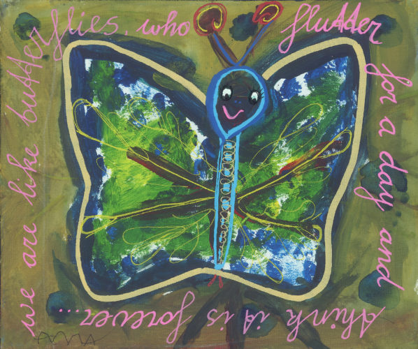 We are like a butterfly by Anna Harper