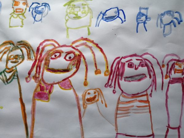 Me and my friends by Grant Comben