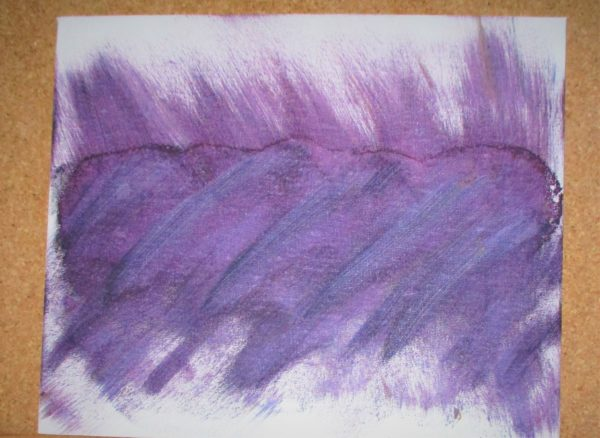 Purple Mist by My art unfolding
