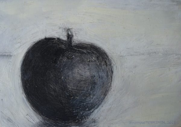 SOLD- 'Study of Mass in Space (Apple)' 2001 by Jonathan Peter Smith