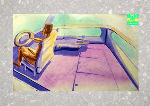 car interior by Silke Wolff