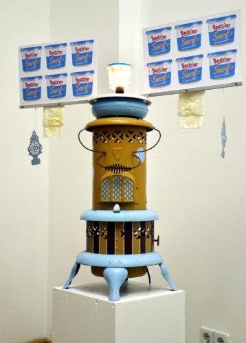 'Senf Motor' (Mustard Motor) by Barbara Ryan