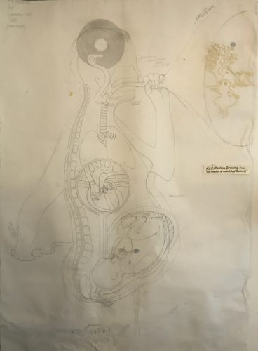 We are Air machines: Ongoing contextual drawing by Samantha Sugars