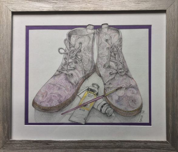 The Artist's Shoes by Lucy Price