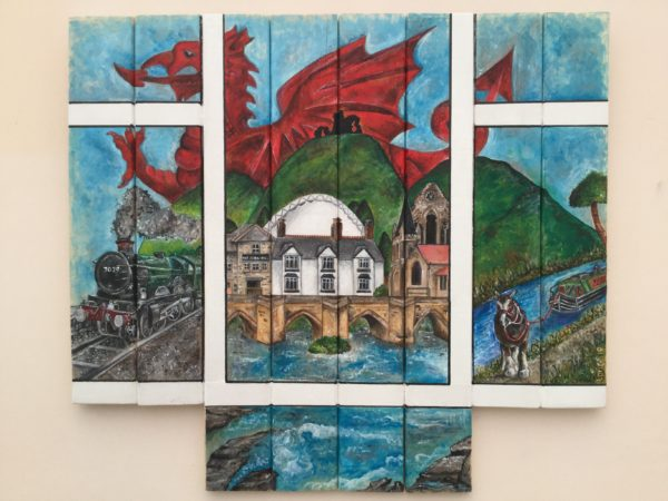 A window into Llangollen by Lucy Price