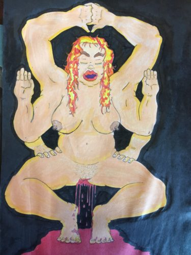 Shiva Form 2 – Submission by Artist Depictions of a Senseless Realm