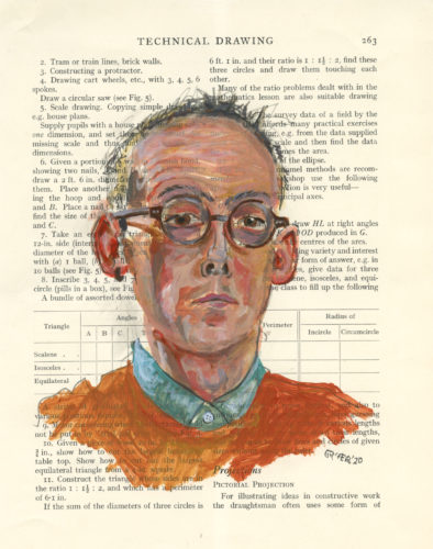 Self-Portrait – Study by graham Rees