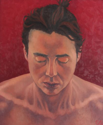 Silent Passion (Self Portrait) by CLARE GRAVENELL
