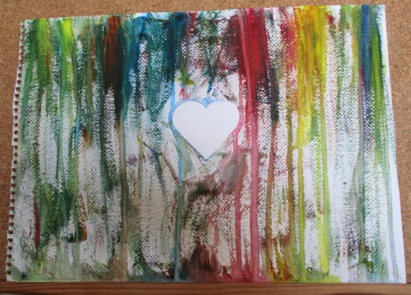 Colours in the heart by My art unfolding