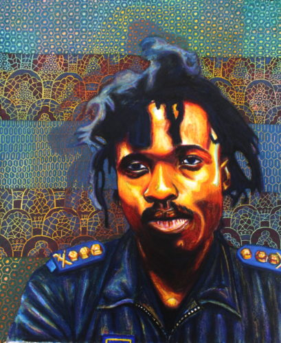 Potrait of Nkosinathi Ntuli by Brian Mthobisi Maphumulo