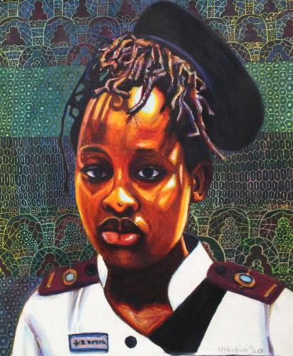 Portrait of Sinethemba Mzobe by Brian Mthobisi Maphumulo