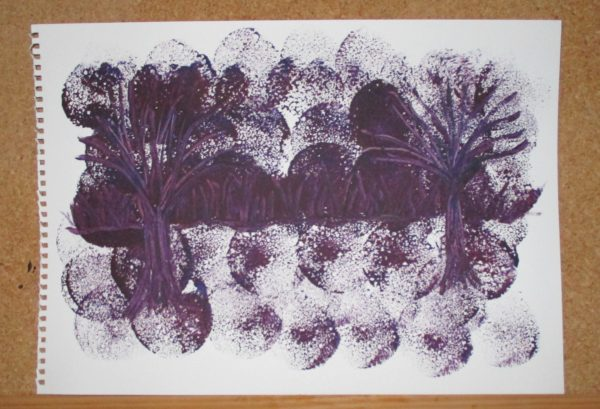 Purple forest by My art unfolding