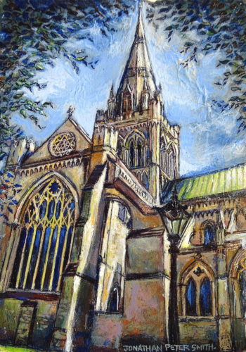 'Chichester Cathedral Miniature' by Jonathan Peter Smith