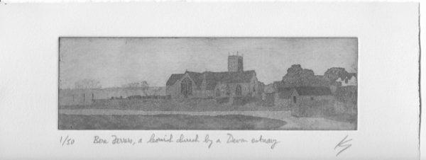 Bere Ferrers, a Cornish church by a Devon estuary by Ken Gowers