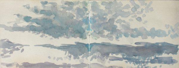 Cloudscape by CLARE GRAVENELL