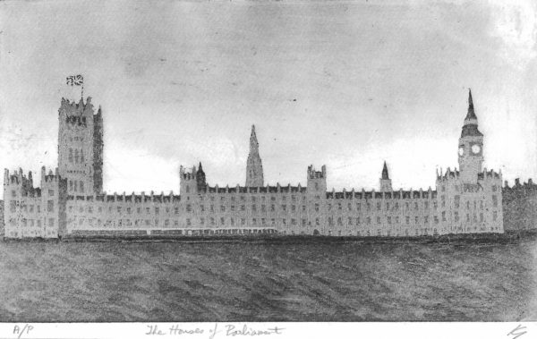 The Houses of Parliament by Ken Gowers