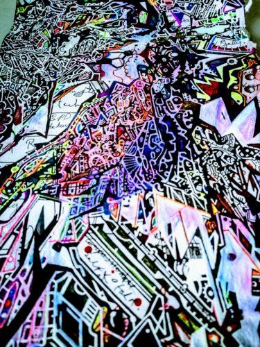 Dead Letter III detail. by ruffrootcreative