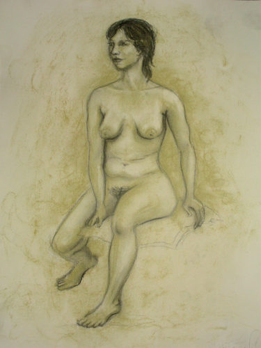 Nude 01 by Sally Case