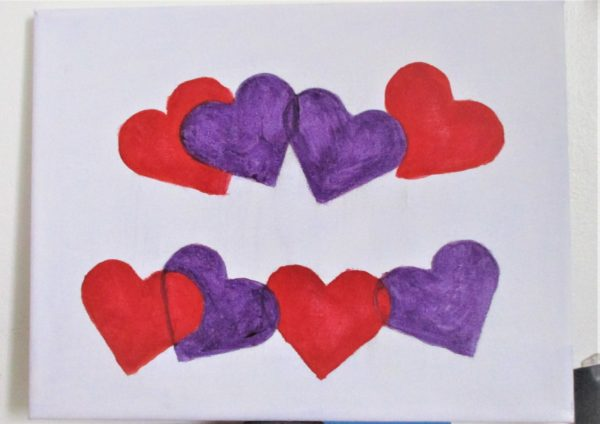 Hearts by My art unfolding