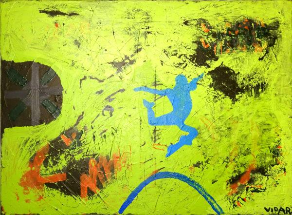 Flying Man by Vidar