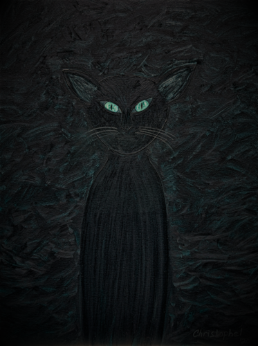 Black Cat by Christoph Christophel