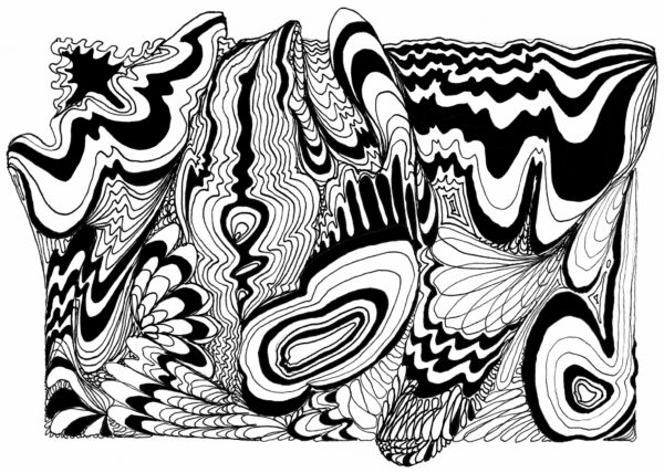 Swirlingdoodle by Sally Case