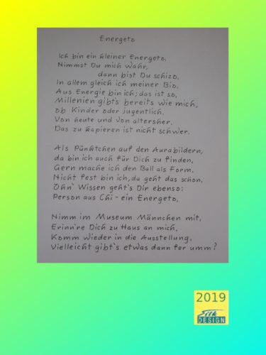 poem energeto by Silke Wolff