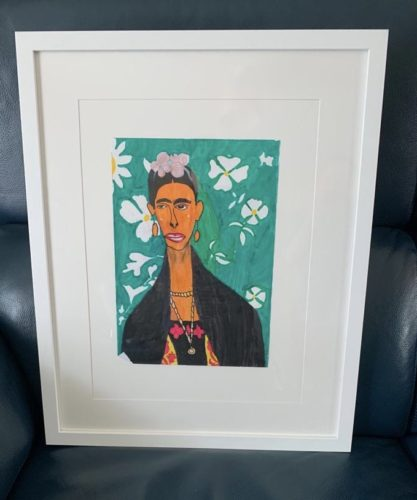 Frida Khalo by Olly Coulson