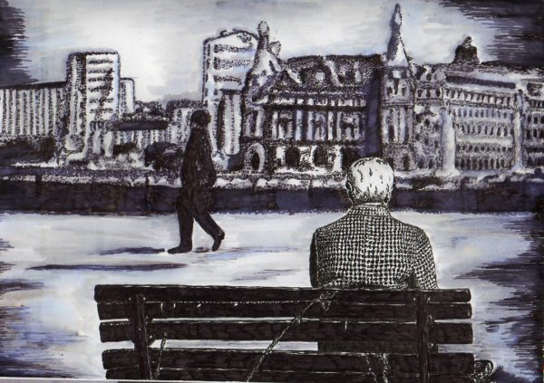 There'll always be someone to take your spot on the bench. Life goes on. by Lorna-Belle Harty