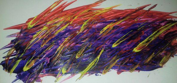 Colourful Rain by Evesy