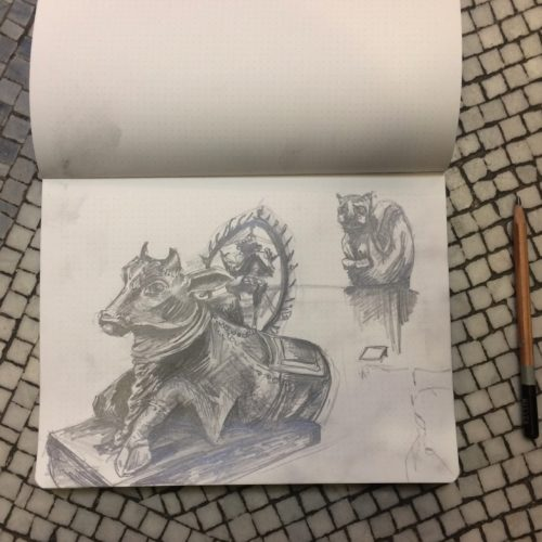Sketches from V&A by SAVD