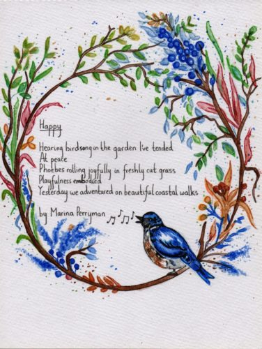 Illustrated Poem 7 by Lorna-Belle Harty
