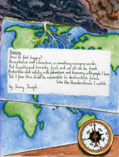 Illustrated Poem 1 by Lorna-Belle Harty