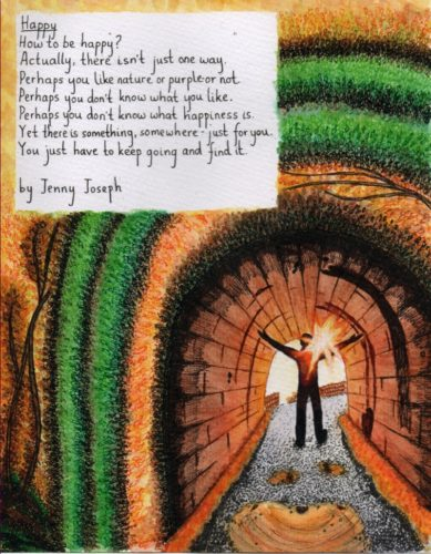 Illustrated Poem 2 by Lorna-Belle Harty