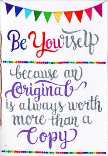 Positive Quotes Journal 1 by Lorna-Belle Harty