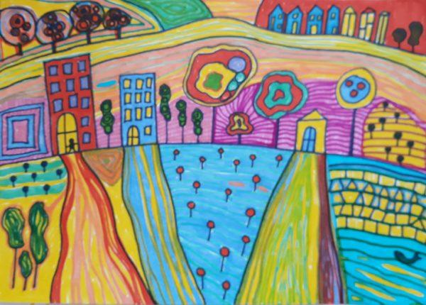 Like Hundertwasser by mcmouse