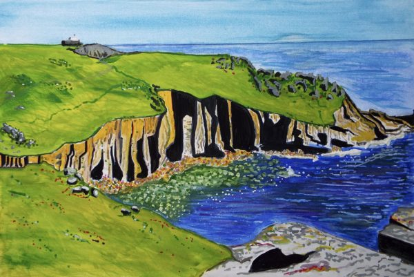 'Cornish Cove' by Julia Baines