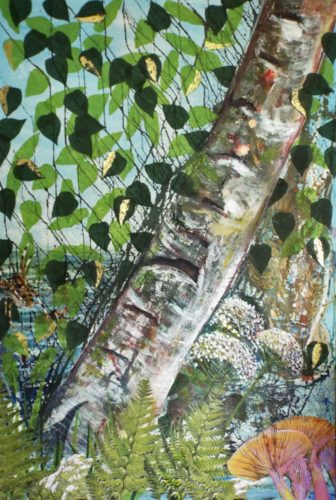 'Silver Birch' by Julia Baines