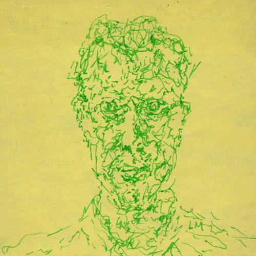 Nick JS Thompson portrait. by LaurenceMorganArt
