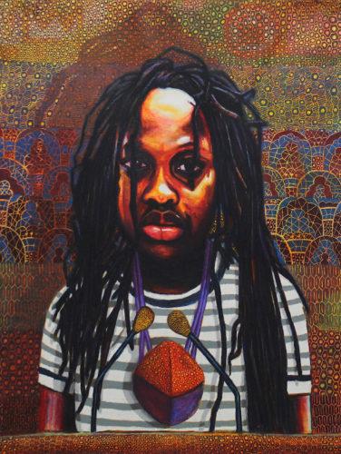Portrait of Snethemba Mzobe by Brian Mthobisi Maphumulo