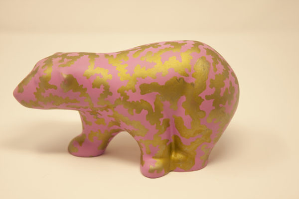 Pinky Bear by Plastic Tiger Factory
