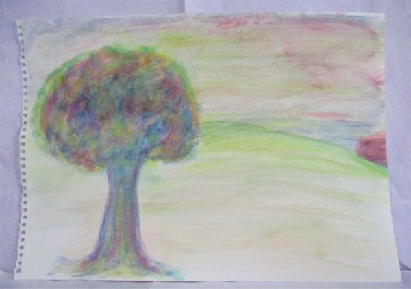 Glowing tree by My art unfolding