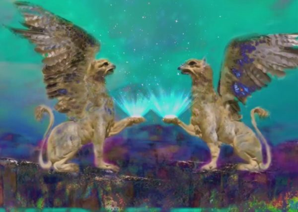 Griffins by Julie Bingley